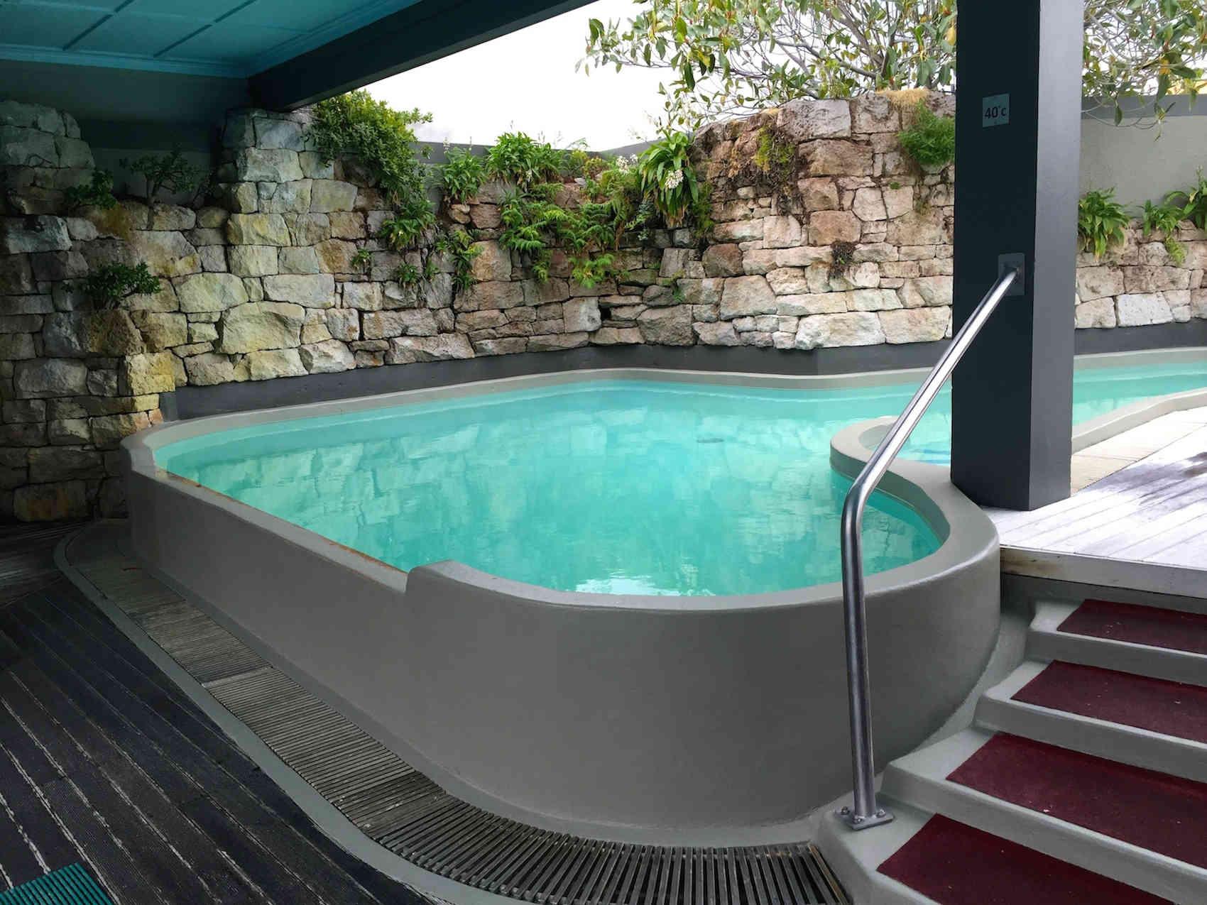 Hot Bathing pools at Polynesian Spa - Soak up the healing properties of Rotorua geothermal water.