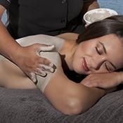 Relaxing mud therapy Rotorua New Zealand mud massage