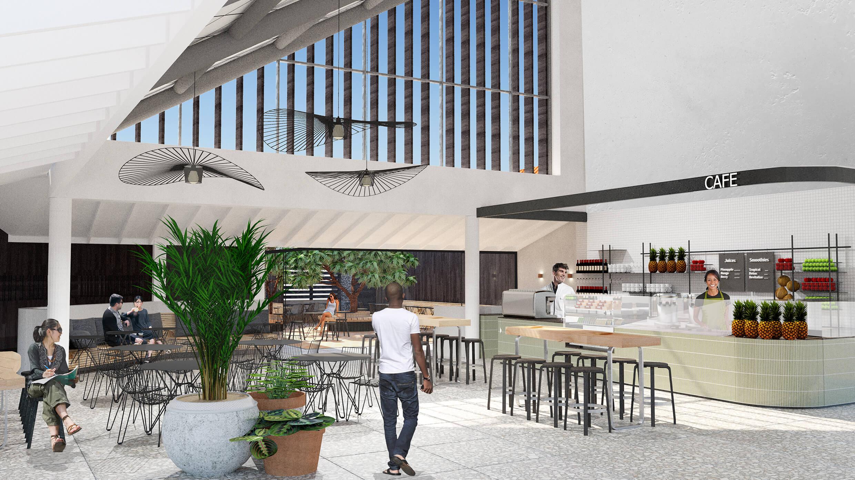 new café at Polynesian Spa