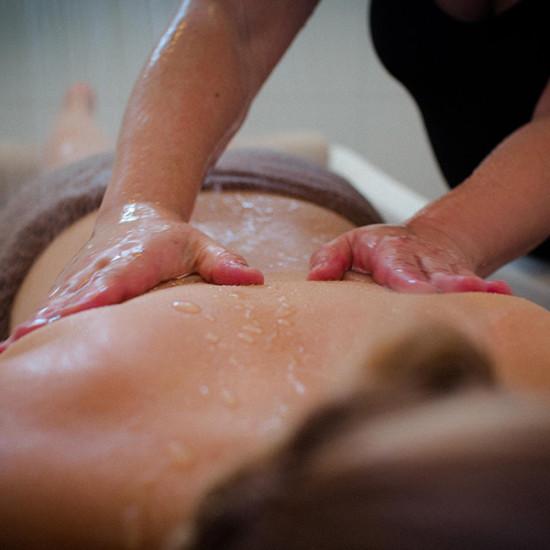 Signature Mud Body Polish and Aix Massage